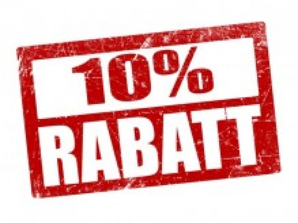 12.00 - 15.00 RABATT